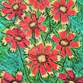 Blanket Flowers by Anne Sands
