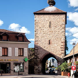 Blienschwiller Gate in Dambach-la-ville, France by Phyllis Taylor