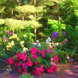 Blooms of Duke Gardens by David Zimmerman