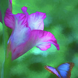 Blossom and Butterfly by Cathy Kovarik