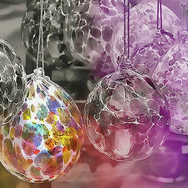 Blown Glass Ornaments by JAMART Photography
