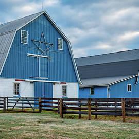 Blue Barns by Mark Dodd