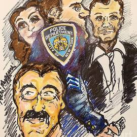 Blue Bloods  by Geraldine Myszenski