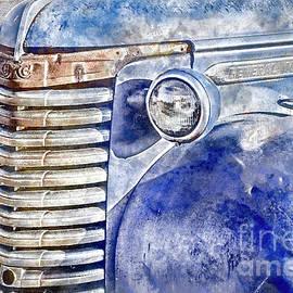 Blue Gmc Truck by Brad Allen Fine Art