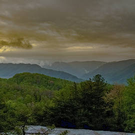 Blue Grass Mountains by Jack R Perry