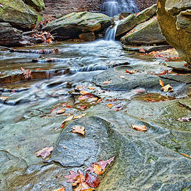 Blue Hen waterfall by Marcia Colelli