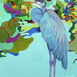 Blue Heron CHARLIE by Sharon Nelson-Bianco