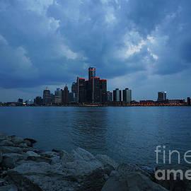 Blue Hour Detroit by Rachel Cohen