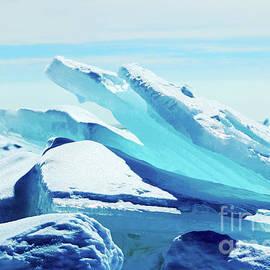 Blue Ice 2 by Cynthia Alvado