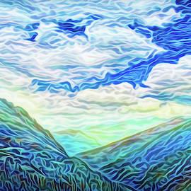 Blue Mountain Flow by Joel Bruce Wallach