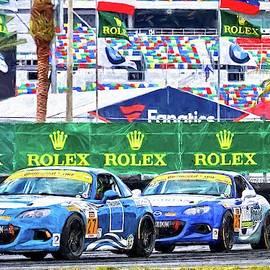 Blue On Blue At Rolex by Alice Gipson