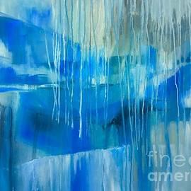 Blue passage by Lorraine Danzo