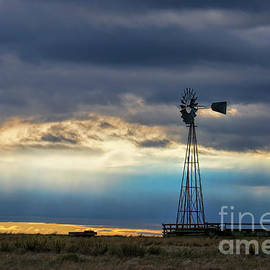 Blue Prairie by Jim Garrison