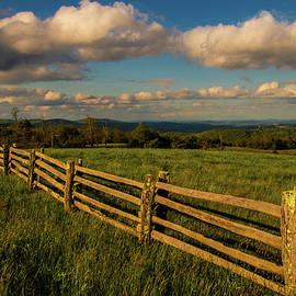 Blue Ridge Mountain Hilltop by Norma Brandsberg