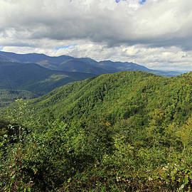 Blue Ridge Parkway 1 by Judy Vincent