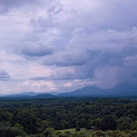 Blue Ridge Silhouette by Norma Brandsberg