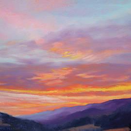 Blue Ridge Sunrise - Morning in Rocky Gap, Bland County Virginia by Bonnie Mason