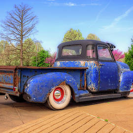 Blue Rusty Patina by Kevin Lane