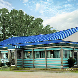 Blue Star Diner by Angelcia Wright