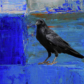 Blue Thoughts by Nancy Merkle