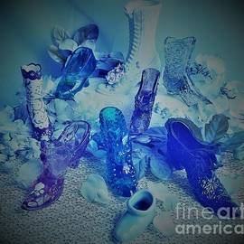 Blue Tinted Shoes by Suzanne Wilkinson