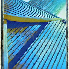 BLUE TRIANGLE POLAROID House of Blues by William Dey