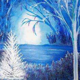 Blue Xmas by Sheri Goodyear