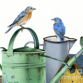 Sarah Batalka - Bluebirds At The Potting Shed
