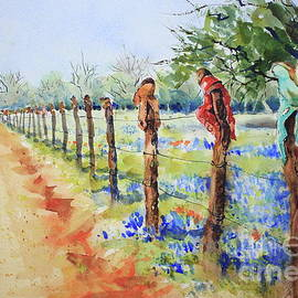 Bluebonnets and Boots by Marsha Reeves