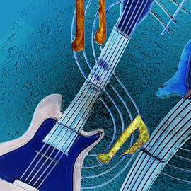 Blues Strings 1 by Vince Migliore
