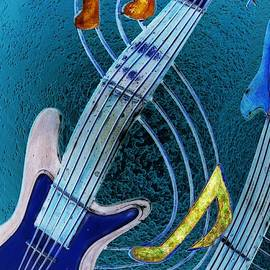 Blues Strings 2 by Vince Migliore