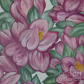 Blushing Magnolias by Trudee Hunter