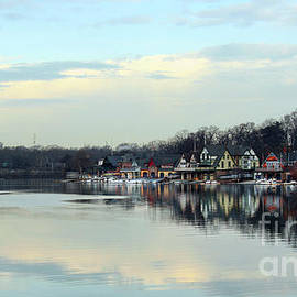 Boat House Row Panoramic by Tom Gari Gallery-Three-Photography