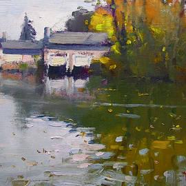 Ylli Haruni - Boathouses in Fall