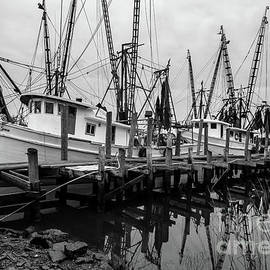 Boatload of Shrimpers by Norma Brandsberg