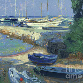 Boats and yachts in Benites by Simon Kozhin