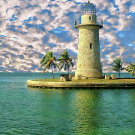 Boca Chita Key Lighthouse by Anthony Dezenzio