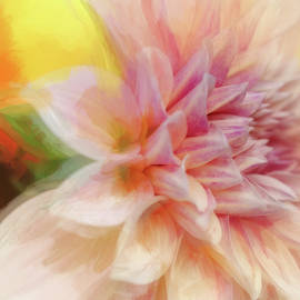 Bold Painted Dahlia by Terry Davis