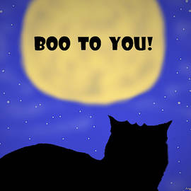 Boo To You by Angela Davies