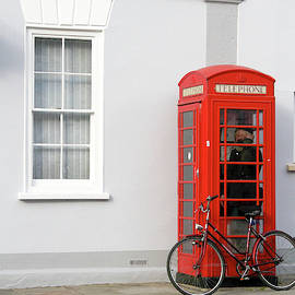Booth and Bicycle