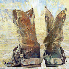 Boots and Spurs I by Ronald Bolokofsky