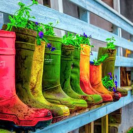 Boots Galore by Debra and Dave Vanderlaan
