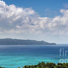 Boracay Bay Philippines by Adrian Evans