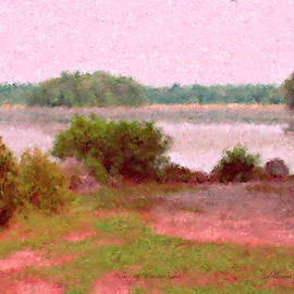 Borderland Pond With Monet's Palette by Bill McEntee