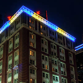 Boston Marathon Colors - The Lenox Hotel by Joann Vitali