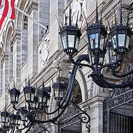 Boston Public Library Lanterns by Lyuba Filatova