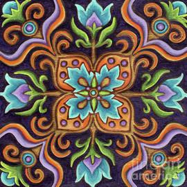 Botanical Mandala 12 by Amy E Fraser