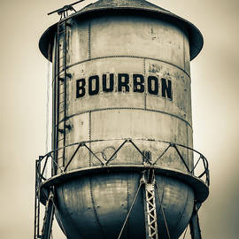 Bourbon Tower - Sepia by Gregory Ballos