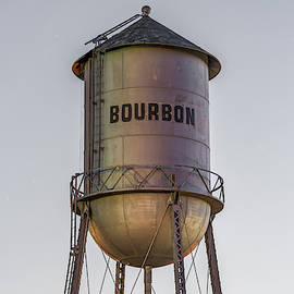 Bourbon Water Tower Vintage Decor by Gregory Ballos