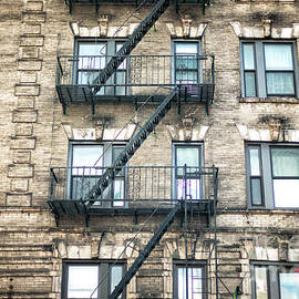Bowery High Rise In New York City by John Rizzuto